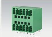 双层双层插拔式PCB接线端子/90度进线双层插拔式