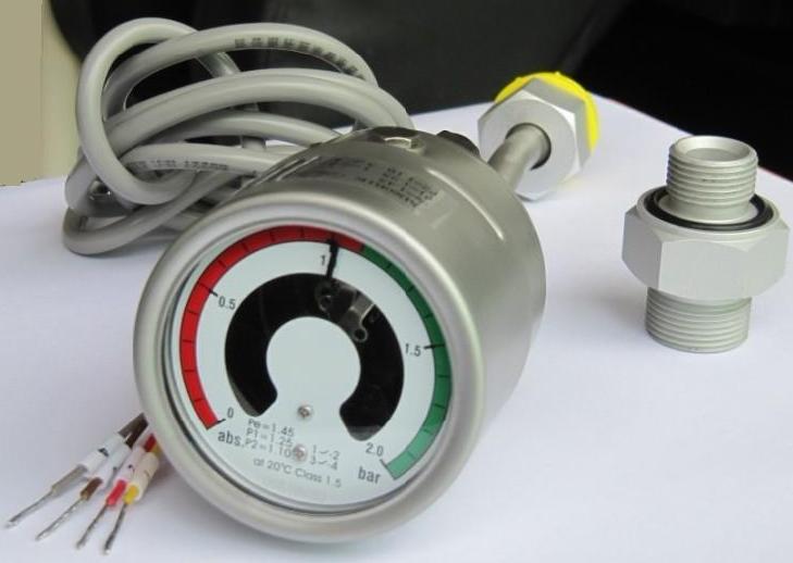知名SF6带辅助触点压力表生产_91采购网