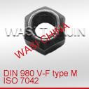 DIN980金属锁紧螺母价格 A4-70金属锁紧螺母供应商