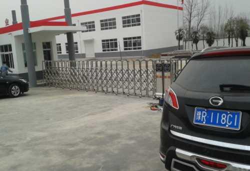 电动门-订做电动感应门- 南阳市金钢不锈钢加工厂
