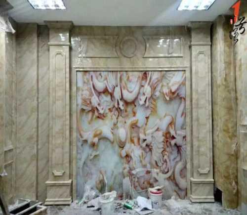 广东艺术背景墙报价_瓷砖背景墙_佛山一号墙建材有限公司