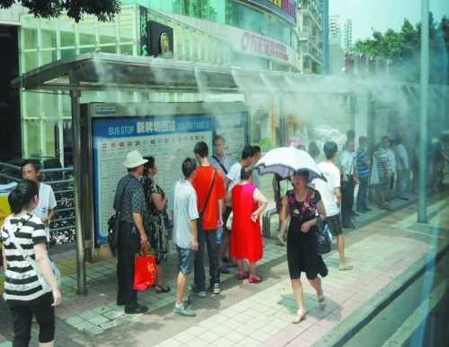 深圳喷雾降温设备施工/园林喷淋设备/深圳宏日环保科技有限公司