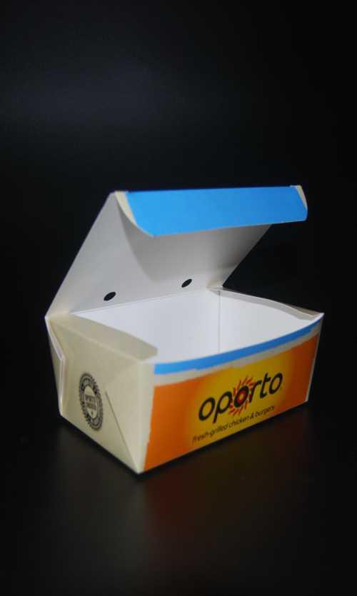 一次性快餐打包纸盒