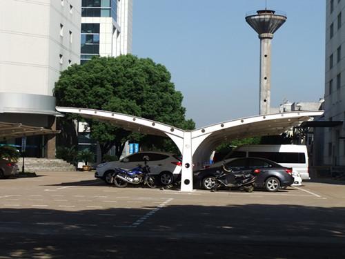 浙江防晒停车棚价格_餐厅景观棚_金华市天禧膜结构有限公司