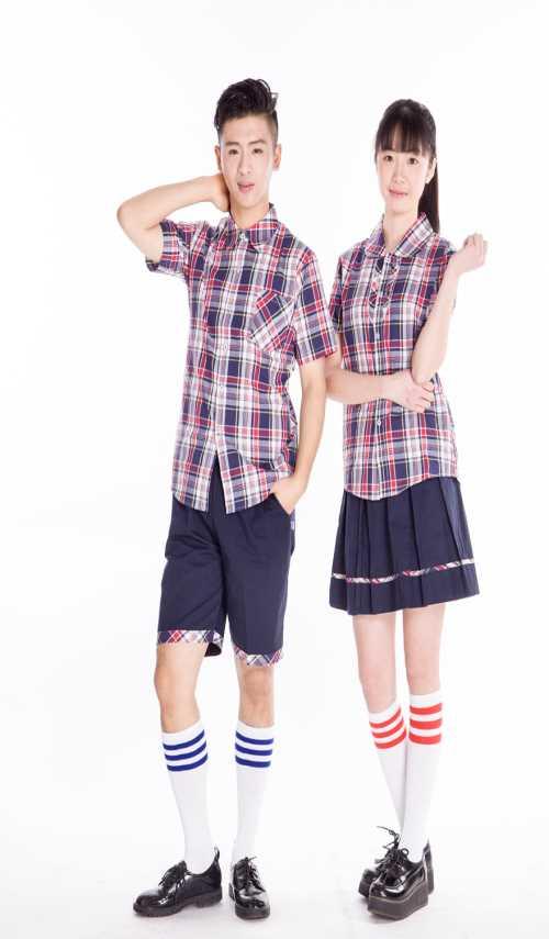 中学夏季校服定购 中学夏季校服定做-校服图片-泉州市图片