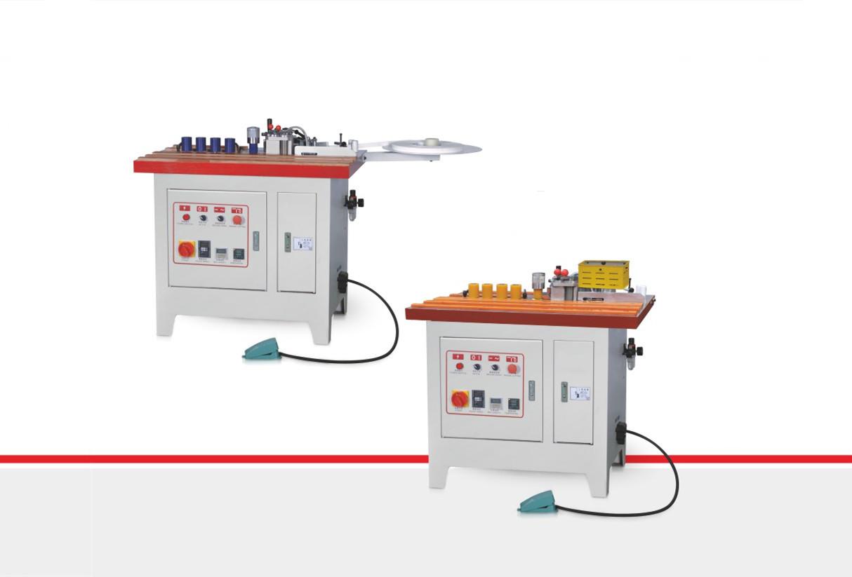 供应产品         手动封边机采用国外先进技术,此结构用胶轴带胶