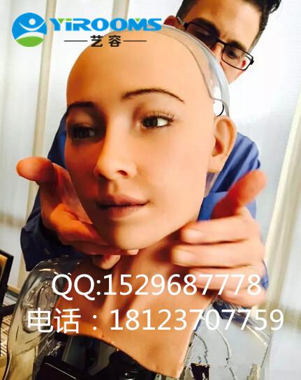 优质高仿真机器人头制作 高仿真机器人头定做