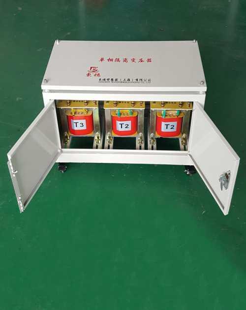 DWG隔离变压器零地电压_上海隔离变压器厂家直销_380V隔离变压器零地电压
