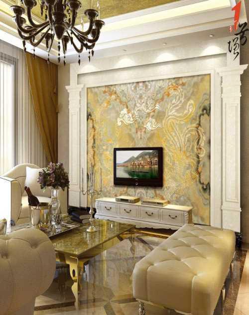 罗马柱-琉璃彩背景墙产品-佛山一号墙建材有限公司